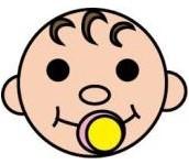 ダウン症の赤ちゃんの顔に出る3つの特徴